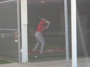 gerry trea turner batting cage