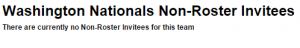 non roster invitees