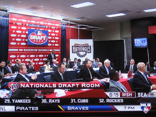 nationals draft war room