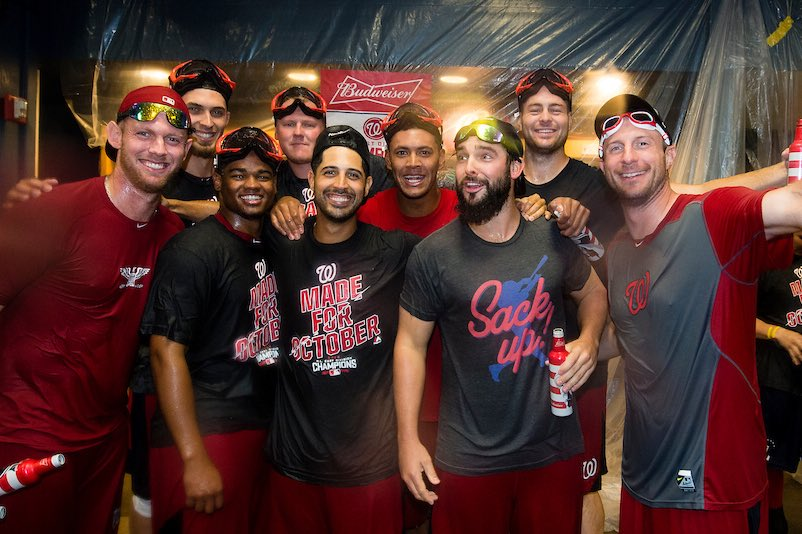 Nationals photo of the 9 starters.