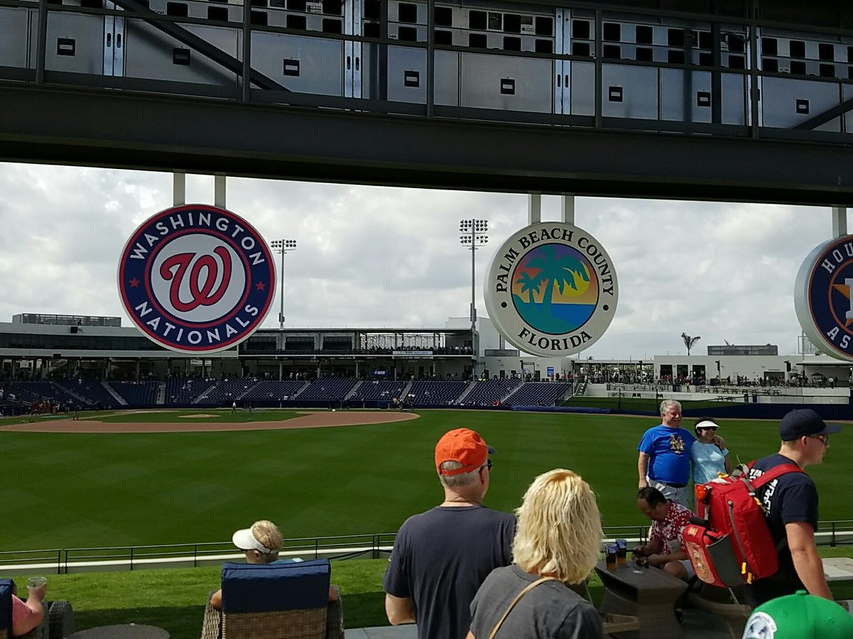 Ballpark of the Palm Beaches scoreboard